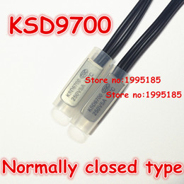 Wholesale-10pcs KSD9700 5A250V 30 Degree Celsius (N.C.)Normally closed type Temperature Switch Thermostat Thermal Protector