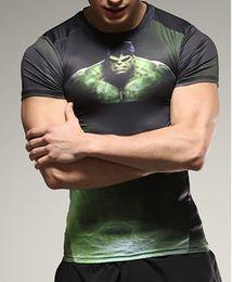 2016 new 3D shirts tshirts 3D printed mens short sleeved T-shirt quick dry Body building tshirts sports and running tshirts Free Shipping