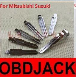 Folding key blanks For Mitsubishi Suzuki Car key embryo replacing the key head NO.07