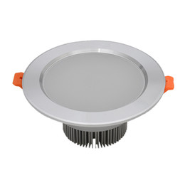 Wholesale Led Spotlight W AC100 V Power Driver Led Downlight Recessed Cabinet Wall Spot Ceiling Lamps White Warm White For Home Lighting