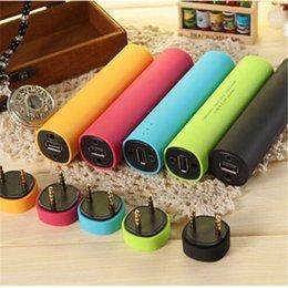 Wholesale Mini Tube Charger Portable Speaker smart phone stand External Power Speaker backup Battery mobile Holder For MP3 Player