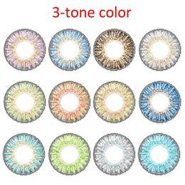 Wholesale Fancylook tone colored contacts colors contact lenses via DHL