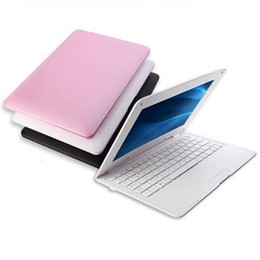 Wholesale 10 inch T mini Student Netbook Quad core Windows operation system GHz GB GB Cheap notebook