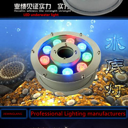 2016 6w LED underwater light red green blue color IP68 DC12V 24V