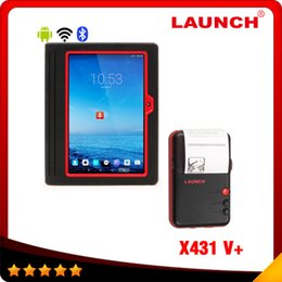 Wholesale Launch X431 V X431 PRO3 Wifi Bluetooth Global Version Full System Scanner x v with WIFI mini printer as gift