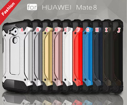 Wholesale Dual Hybrid Armor Ballistic TPU Rugged PC Aluminum Hard Case Slim Tough ShockProof For Huawei Ascend P8 P9 Lite Mate Xiaomi M5 Mi5 skin