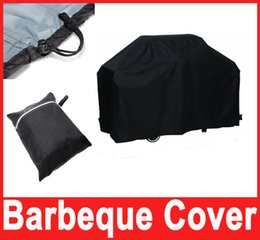 Wholesale Black Barbeque Grill Waterproof Bbq Cover cm Outdoor Rain Barbecue Grill Protector cm Hot