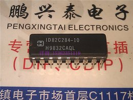 Wholesale ID82C284 MHz PROC SPECIFIC CLOCK GENERATOR dual in line pin dip ceramic package Electronic Component CDIP18 IC