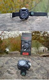 Outdoor sports personality quartz wrist band waterproof lamp rechargeable flashlight night watch riding running lights