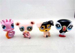Wholesale Q Pet Garden LPS Littlest Pet Shop Mini Animal Toy Hasbro Children Action Figures Christmas Toys And Gifts