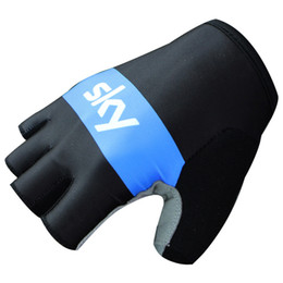 2016 New Men's Cycling Gloves Hot Sale Bicycle Half Finger Gloves Mittens Wholesale Free Shipping
