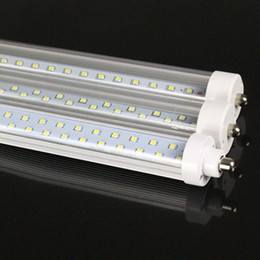 Wholesale BIG DISCOUNT US STOCK feet led ft single pin t8 FA8 Single Pin LED Tube Lights W Lm LED Fluorescent Tube Lamps V