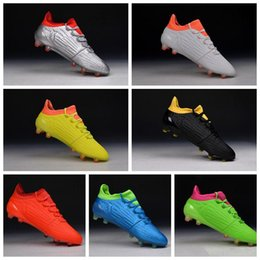 X 16.1 Firm Ground Cleats Boots Football Shoes FG Mens Soccer Boots Cheap Soccer Cleats Football Soccer Shoes New Football Boots Wholesale