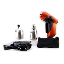 Wholesale HOT KLOM Cordless Electric Lock Pick Gun for Europe Auto Pick Guns Lockpicking Locksmith Tools SYG