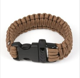parachute cord Jewelry Main Material and Anniversary,Hiking sports,Gift,Engagement Occasion parachute cord survival bracelet
