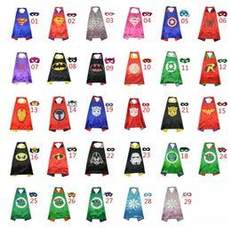 Wholesale Manufacturers supply children s cartoon hero Superman cape eye ball custom Superman cape Cloak