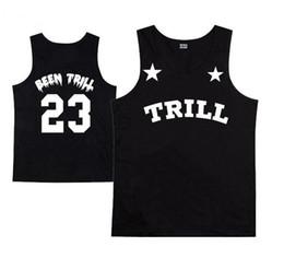 #23 been trill brand summer sports men tank top HBA hood by air 3d Galaxy Flower print hip hop vest plus size XXXL