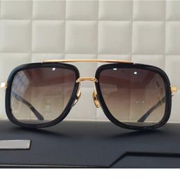 Wholesale Gradient Adults Cheap Eyeglasses Antireflective UV400 CR Lens Alloy Full Frame Fashion Best Sunglasses for Men Online