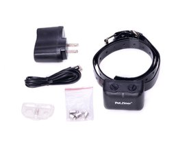 Wholesale Rechargeable Auto Static Shock Anti No Bark Control Collar automatic stop barking pet training device dog training