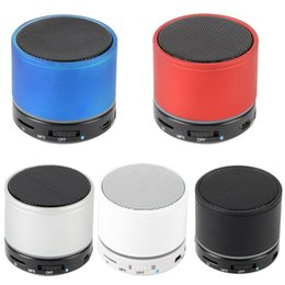 Portable Wireless Speaker S11 Bluetooth Speaker Mini Stereo Music Player S11 With MIC FM Radio For MP4 MP3 Phone Computer