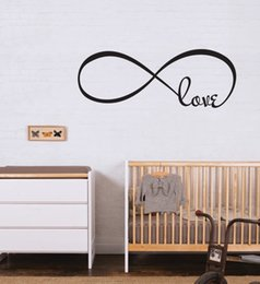 Wholesale N024 X40cm love Mix Order Wall Words Lettering Saying kids room Vinyl Wall Decals high hand painted wall art black high quality