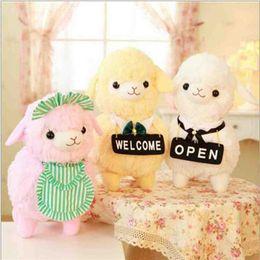 Wholesale Hot Sale Llama Alpaca Arpakasso Alpacasso Gentleman Hat Tie Style Stuffed Plush Doll