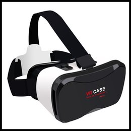 Wholesale 2016 NEW Virtual Reality D Glasses VR case th plus with Bluetooth Controller for inch smart phone D video and games