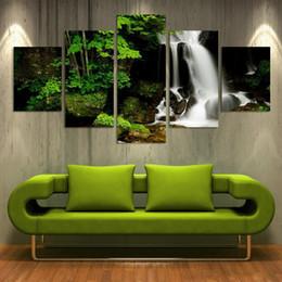 Peinture murale vert en ligne promotion wall art de la peinture verte sur f - Peinture murale en ligne ...