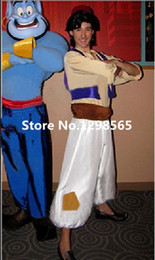 Wholesale Custom Made Aladdin Lamp Prince Aladdin Costume For Adult Man Dance Party Movie Cosplay Costume