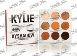 Wholesale Factory Direct DHL New Makeup Eyes Kylie Ky Shadow Pressed Powder Eyeshadow Palette Mini Colors Eyeshadow