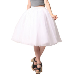 Women White Tulle Skirts Ladies Plus size 5XLTulle Lolita Tutu Skirt High Waist summer Falda Girl Cute Wedding Party Ladies Jupes