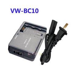 Wholesale VW VBC10 Charger For Panasonic VW VBK180 VW VBK360 VW VBT190 VW VBT380 VW BC10 VW BC10E K VW VBY100 HC W850 HC V110 HC V250 HDC HS80 SDR S45