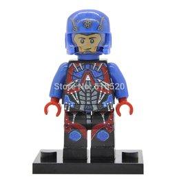Wholesale DC Atom Minifigures Building Blocks Super Heroes Sets Models Figures Bricks Toys