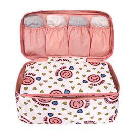 fast shipping fashion bra & Panties makeup toiletries Bag,Ladies Travel Bag Organizers Bra Underwear Secret Pouch Storage