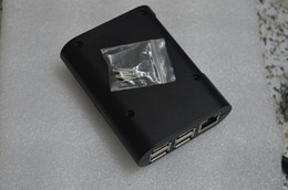 Wholesale hot sale raspberry pi model B Black Case Cover Shell Enclosure Box ABS box