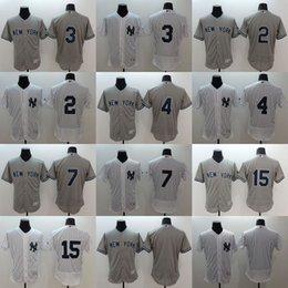 Wholesale MLB jerseys NY Yankees new FlexBase baseball Jerseys Mantle Jeter Ruth Gehrig Mattingly Munson freeshipping
