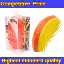 Wholesale Tangle Teezer ELITE Hair Brush Various Color Hair Care Styling Tools Tangle Teezer Detangling HairBrush Comb Salon Styling Tamer
