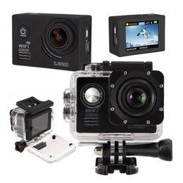 Promotion caméra de voiture de vélo US Stock! Sport Waterproof Caméra SJ9000 2.0