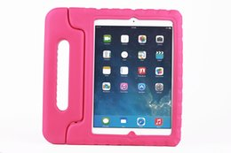 Wholesale HDE iPad Case for Kids Light Weight Shock Proof Handle High Quality Non toxic EVA Case for iPad Air Cover for Apple Best Protective Stan