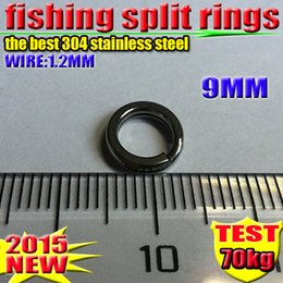 Fishing Lure Accessories best 304 stainless steel Split Rings 9 MM 1000 PCS  lot 2016 new arrial