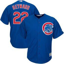 Chicago Cubs Jason Heyward Men's Game Cool Base Player Jersey Throwback Jerseys Baseball Jerseys