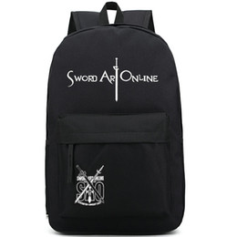 Sword Art Online backpack SAO school bag Nice style daypack Quality schoolbag New game play day pack