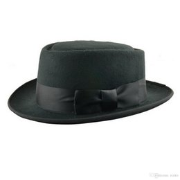 Wholesale Breaking Bad Hat Walter White Cosplay Heisenberg Hat Pork Pie Cap