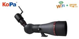 KOPA Télescope à haute réfraction Visionnement professionnel HD Wifi Télescope App / PC / IOS Observer les étoiles à partir de télescope étoiles fournisseurs