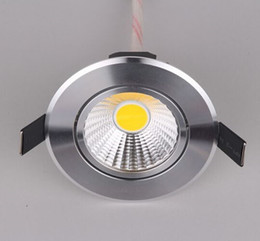 Super Bright LED Recessed COB Downlight Dimmable 7w LED Spot Light AC110V 220V Home Decoration Ceiling Lamp Bulb