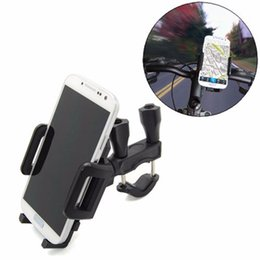 Wholesale Universal Car Automobile Interior Accessories Motorcycle MTB Bike Bicycle Handlebar Mount Holder For Cell Phone GPS PDA MP4