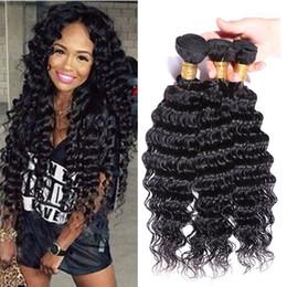 Brazilian Curly Virgin Hair 3 4pcs Rosa Hair Products Brazilian Deep Curly Virgin Hair Unprocessed Brazilian Deep Wave Human Hair