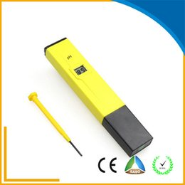 Wholesale 2016 Hot sale and easy to use digital pocket PH meter handhold with RoHS CE certificate