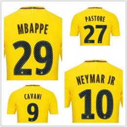 Discount Cheap 17-18 29 Mbap Thai Quality Soccer Jerseys,men customized Number 10 Neymar Jr 11 DI MARIA 23 Draxler 32 DANI ALVES Soccer Wear