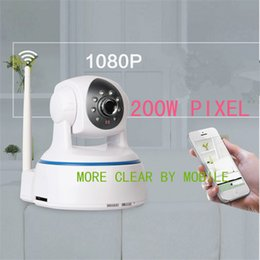 Wholesale 200w px Wifi IP Camera Hi E LINUX System Wireless IPC with Infrared Lamp m IR for Android IOC PC RH HS